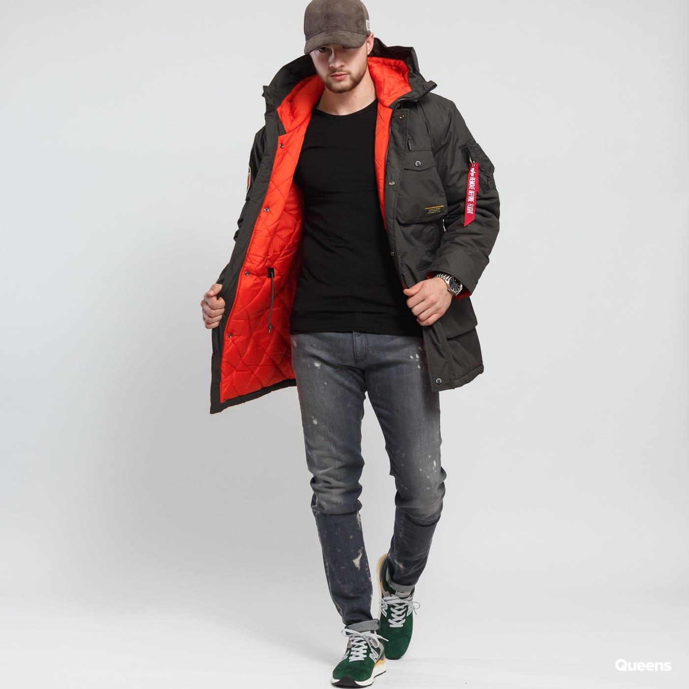 Pánská zimní bunda Alpha Industries Mountain All Weather Jacket (188144  136) – Queens 💚 16337d07b8