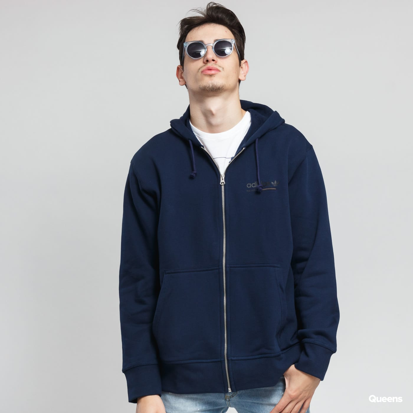 Mikina adidas Originals Kaval FZ Hoody (DH4991) – Queens 💚 21a41e7ea2