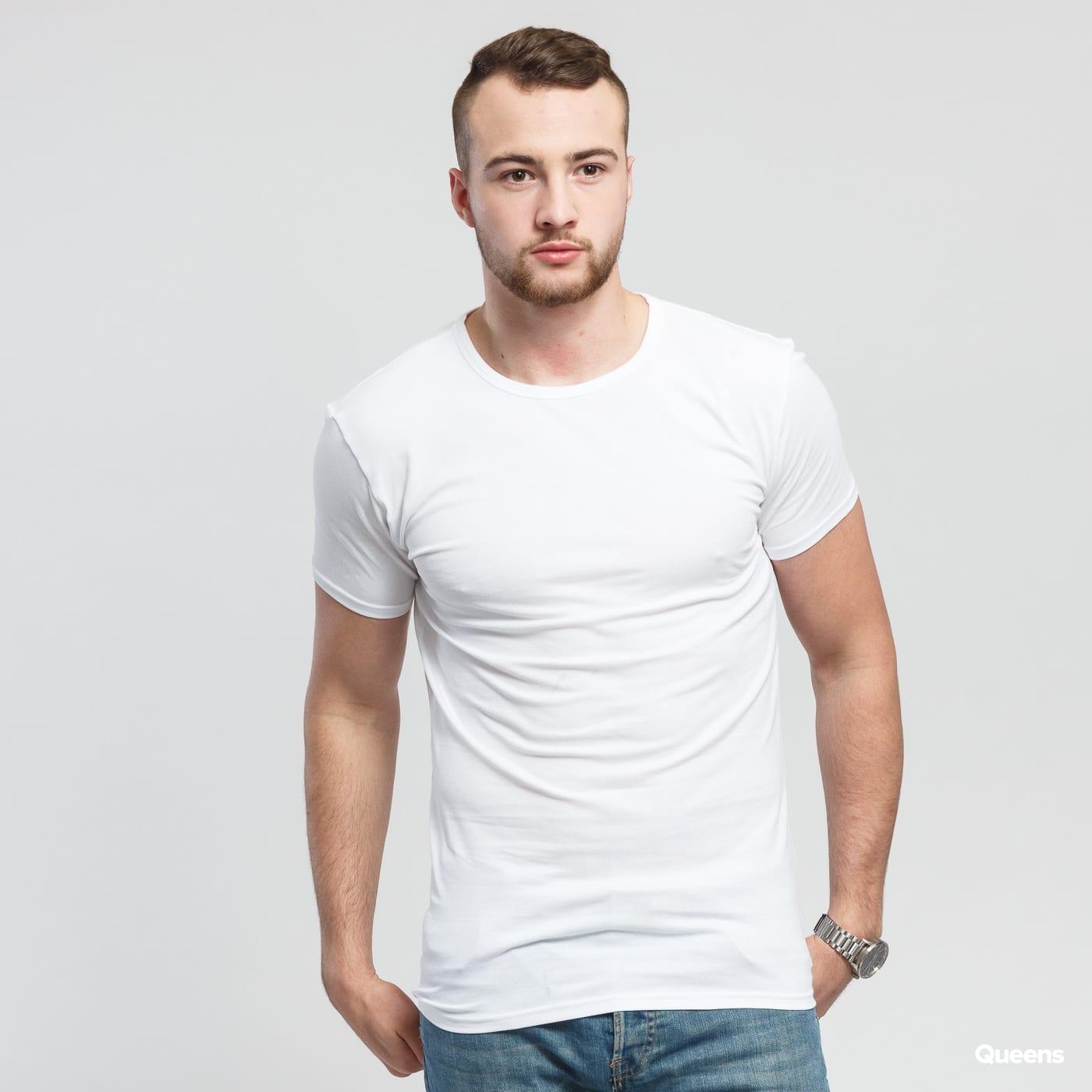 Tommy Hilfiger 3 Pack Crew Neck SS Premium Essentials white
