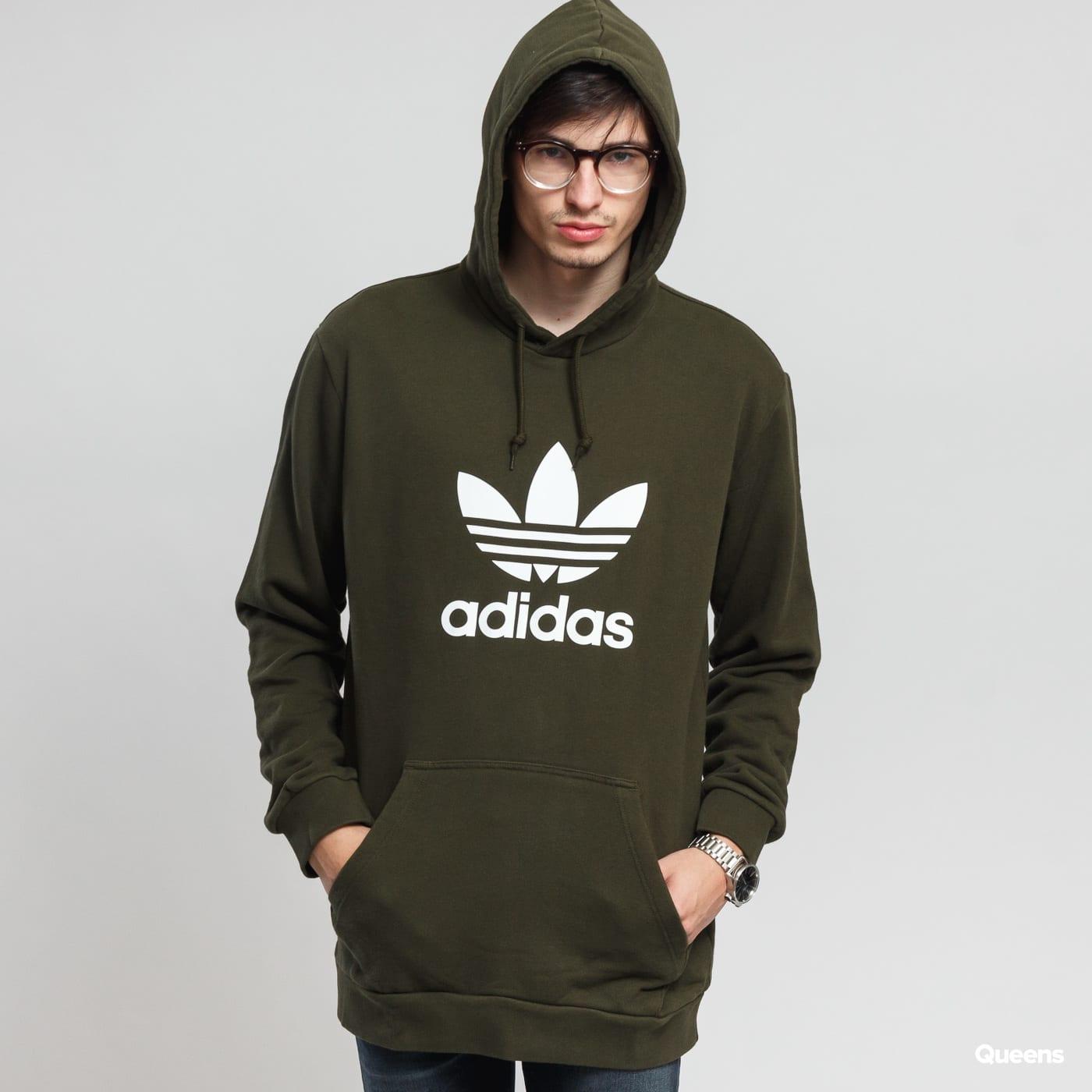 Mikina adidas Originals Trefoil Hoody (DT7970) – Queens 💚 63c9decdc6