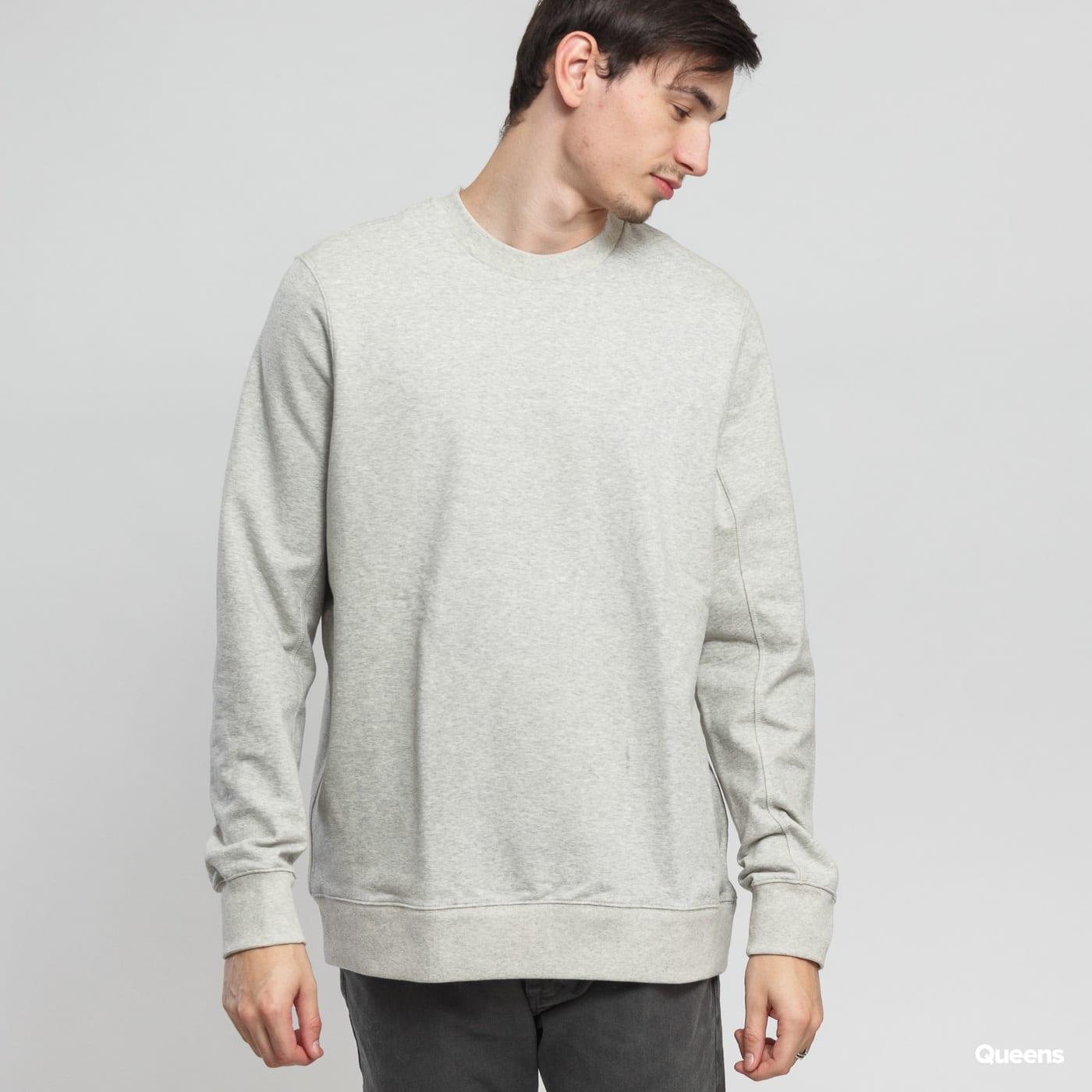 NikeLab Essentials Fleece Crew melange šedá