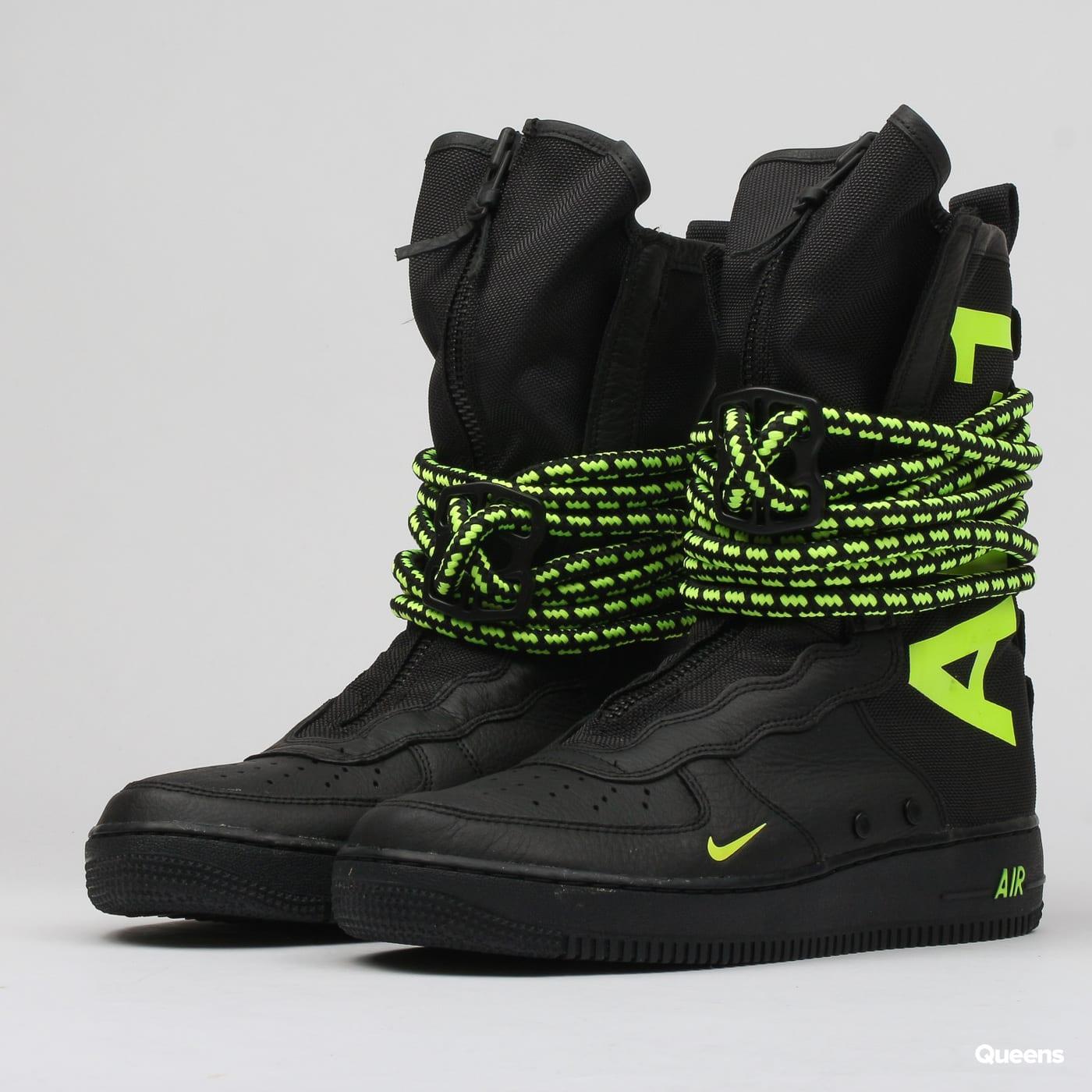 new concept 29f33 0f79f Nike SF AF1 HI black / volt - black