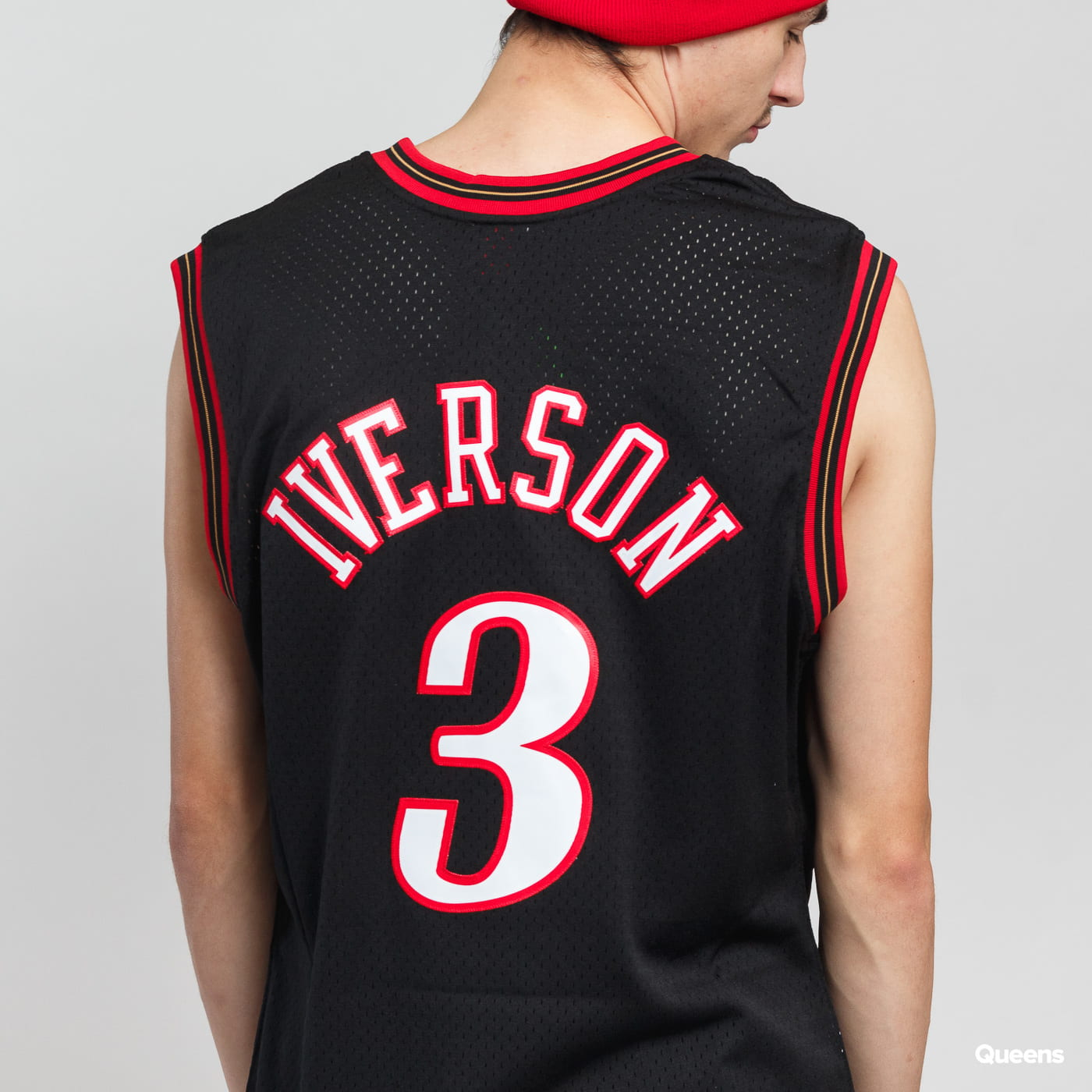 Mitchell & Ness NBA Swingman Jersey Philadelphia 76ers black