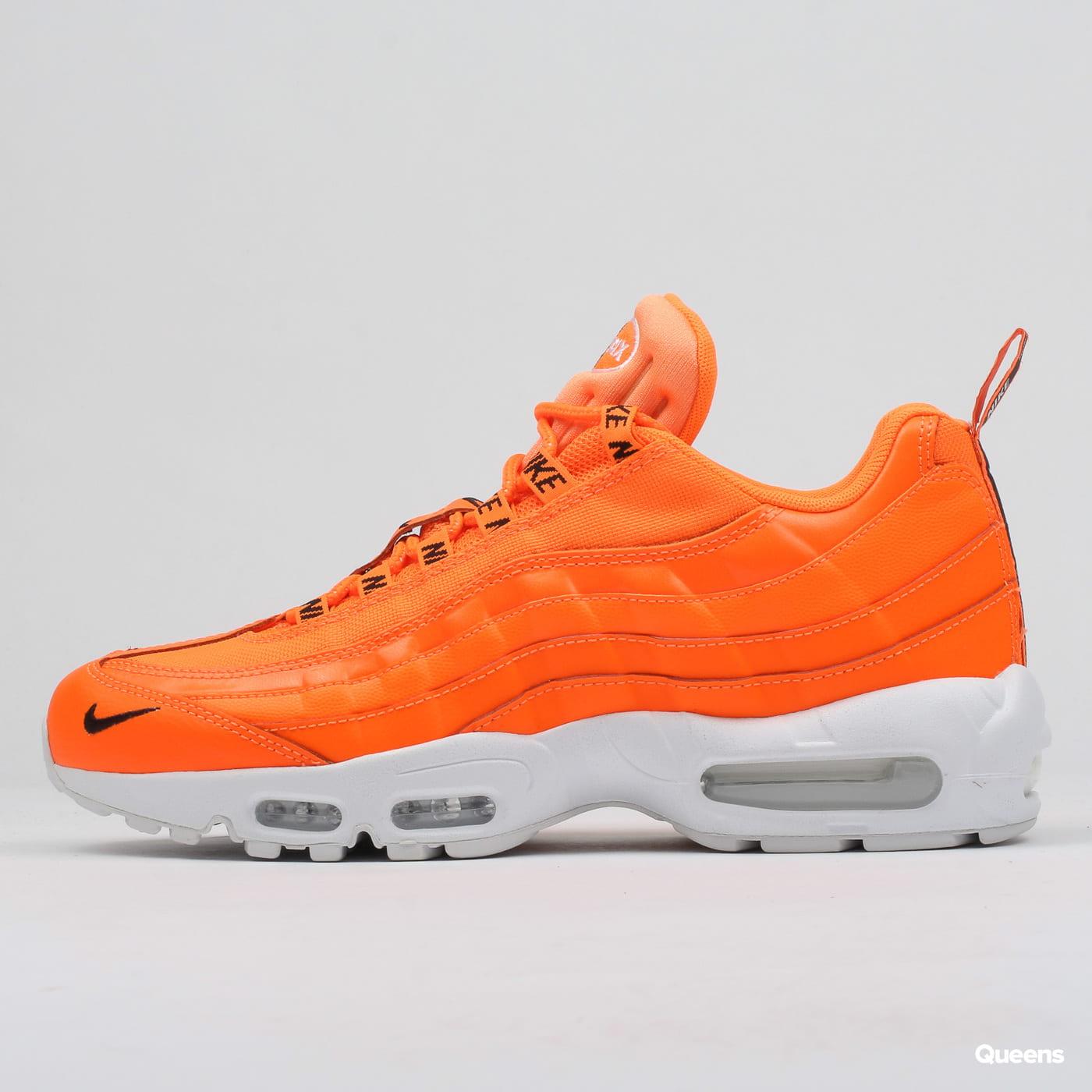 sale retailer 83635 cc0bb Zoom in Zoom in Zoom in Zoom in Zoom in. Nike Air Max 95 Premium total  orange   black - white