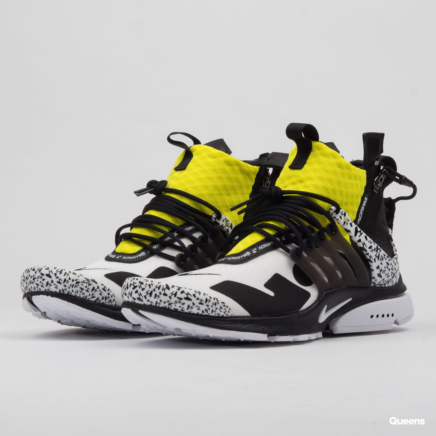 Sneakers Acronym White Dynamic Mid Presto Air Black Nike 5Lj34AR