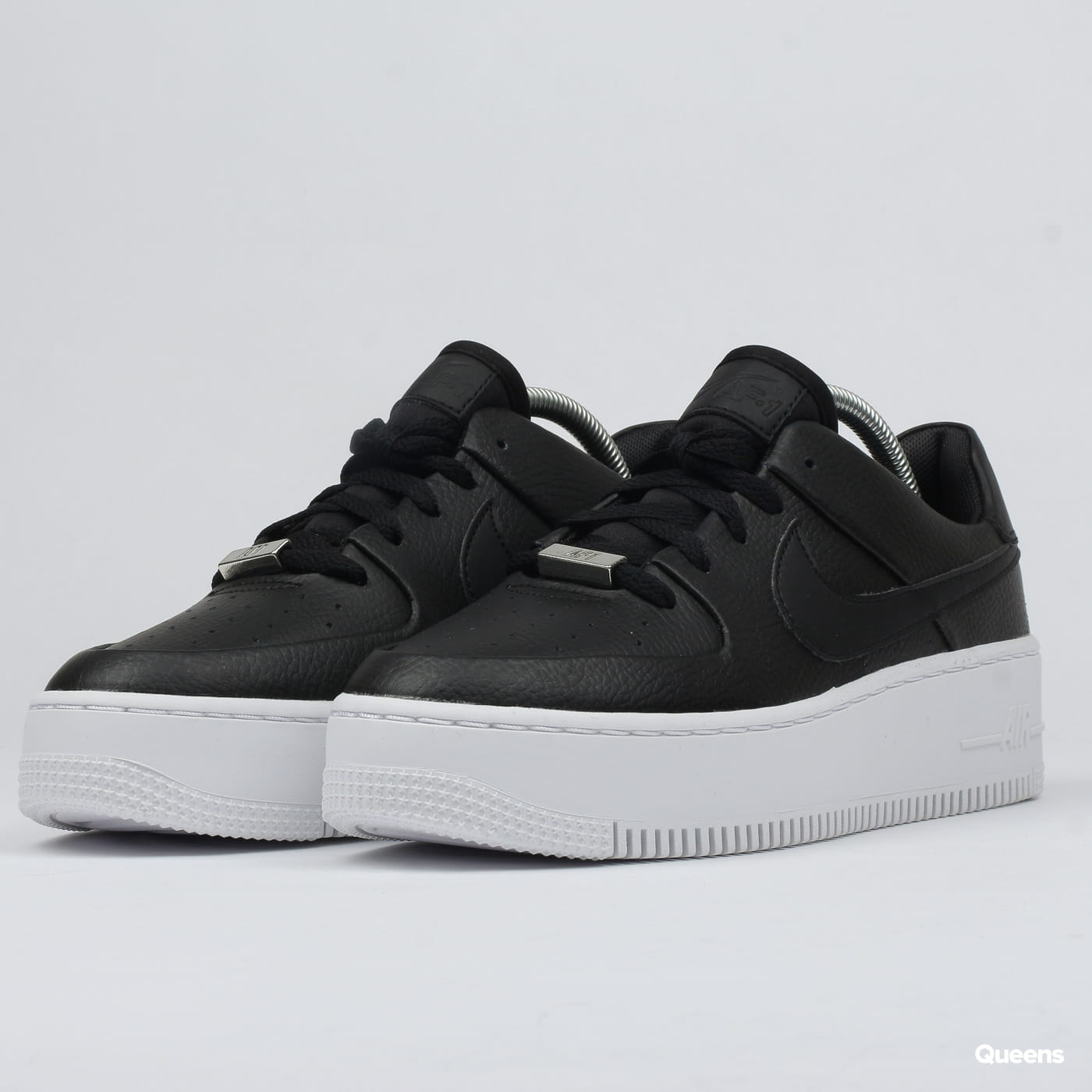 wholesale dealer 54818 e85ab Nike W AF1 Sage Low black / black - white