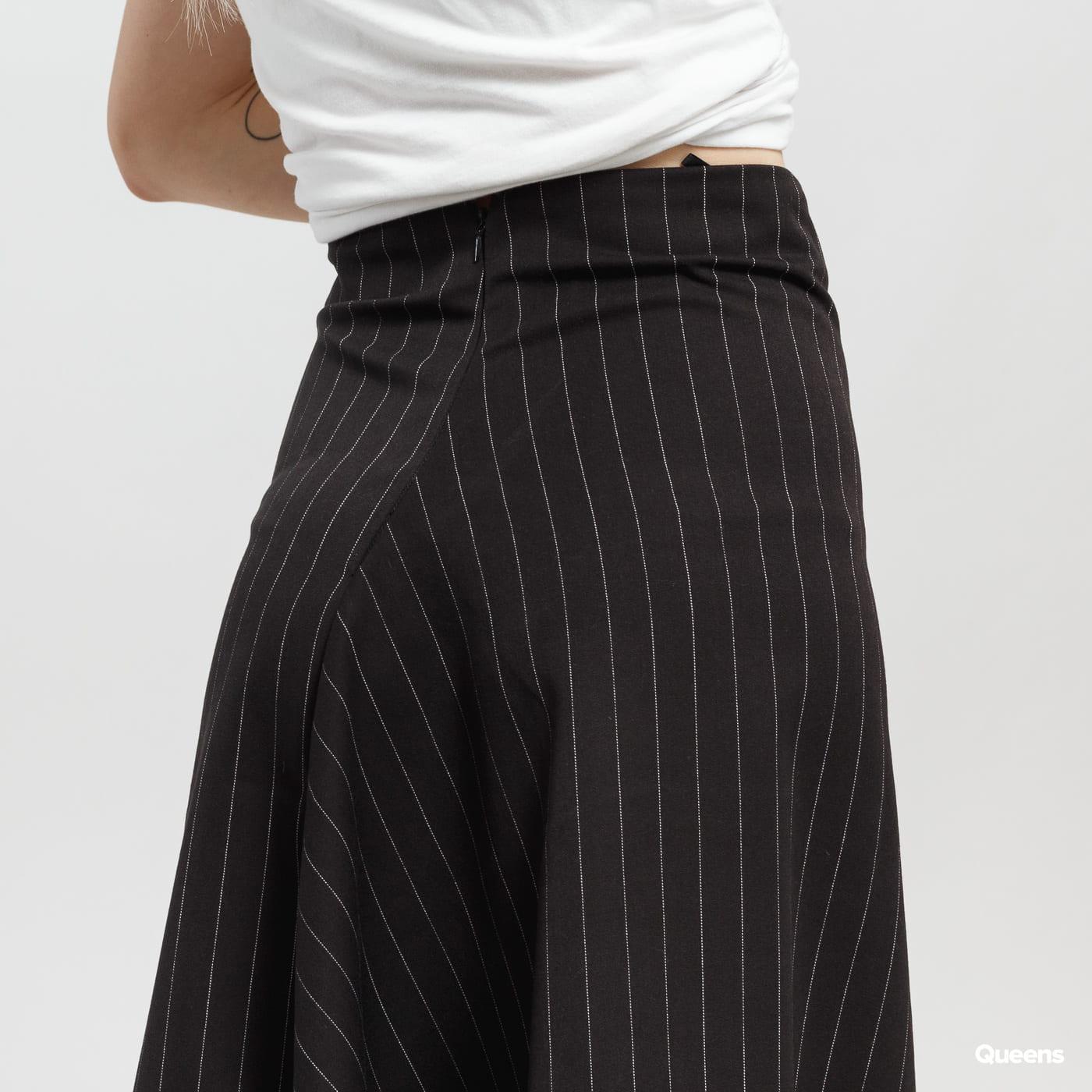 ODIVI Dream Stripe Skirt čierna / biela