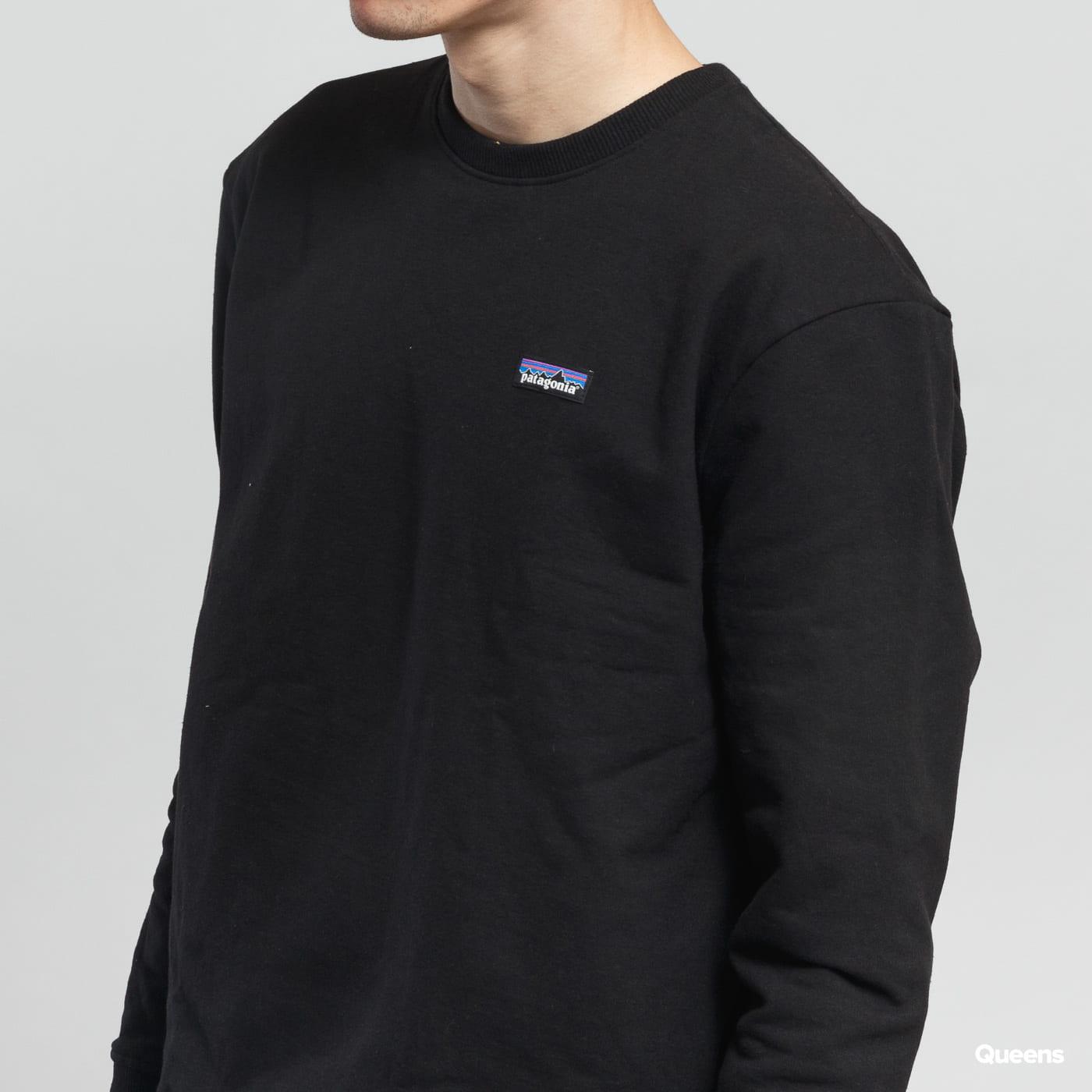 Patagonia M's P6 Label Uprisal Crew Sweatshirt čierna