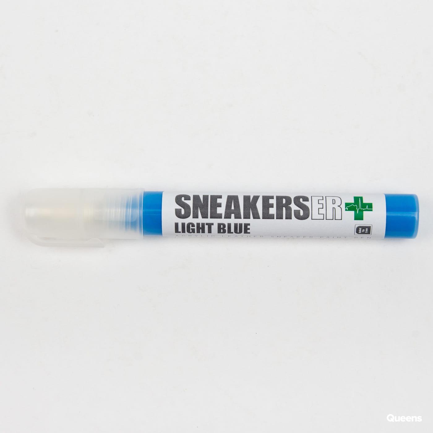 SNEAKERS ER Light Blue Acrylic Paint Pen 2 mm modrý