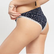 Calvin Klein 3 Pack Bikini - Slip béžové / navy / světle růžové