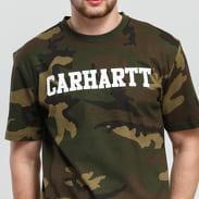 Carhartt WIP College Script Tee camo grün