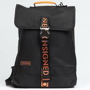 CONSIGNED Vance Backpack černý / oranžový