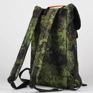 CONSIGNED Zane Backpack camo zelený