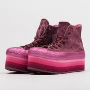 Converse Chuck Taylor AS Platform HI Miley Cyrus dark burgundy / pink