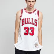 Mitchell & Ness NBA Swingman Jersey Chicago Bulls bílý