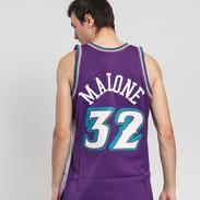 Mitchell & Ness NBA Swingman Jersey Utah Jazz fialový / bílý