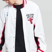 Mitchell & Ness NBA Authentic Warm Up Jacket Chicago Bulls bílá / černá