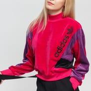 adidas Originals Crew LG tmavě růžová / fialová / černá