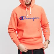 Champion Reverse Weave Hooded světle oranžová