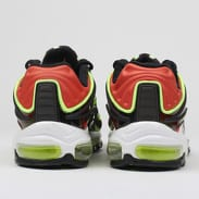 Nike Air Max Deluxe black / volt - habanero red - white