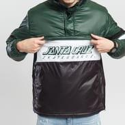Santa Cruz Quest Jacket tmavě zelená / černá / šedá