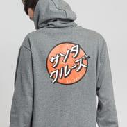 Santa Cruz Japanese Dot Hood melange šedá