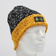 Nike U NRG Beanie A14 černý / bílý / žlutý
