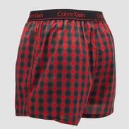 Calvin Klein 2 Pack Boxer Slim červené / zelené / navy / vínové
