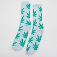 HUF Plantlife Crew Socks světle modré / zelené