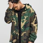 HUF Standard Shell Jacket camo zelená
