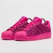 adidas Originals Superstar W shopnk / shopnk / cpurpl