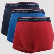 Tommy Hilfiger Trunk 3 Pack Premium Essentials navy / modré / červené