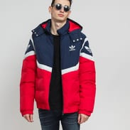 adidas Originals Down Jacket navy / červená / šedá