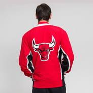Mitchell & Ness NBA Authentic Warm Up Jacket Chicago Bulls červená / černá