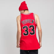 Mitchell & Ness NBA Swingman Jersey Chicago Bulls - Scottie Pippen #35 red
