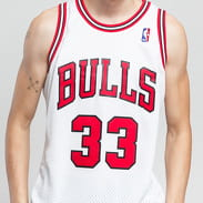 Mitchell & Ness NBA Swingman Jersey Chicago Bulls white