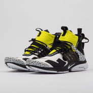 Nike Air Presto Mid / Acronym white / black - dynamic yellow