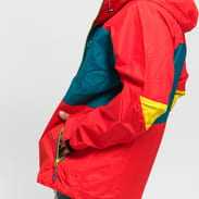Nike M NSW ACG Anorak červená / tmavě tyrkysová