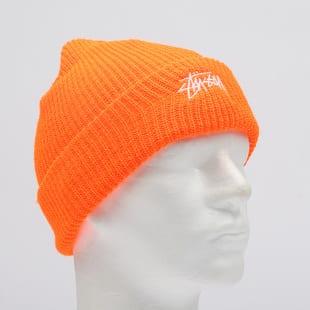 25f68ed60 Zimná čiapka Stüssy Stock Cuff Beanie neónovo oranžový (132901 ...