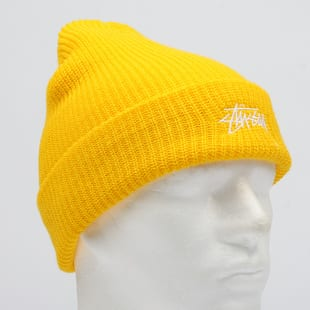 5582d0c23 Hat Stüssy Stock Cuff Beanie yellow (132901 / 0308) – Queens 💚