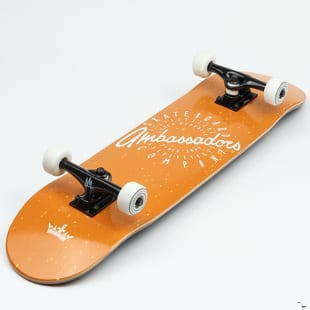 Ambassadors Komplet Skateboard Spin Orange