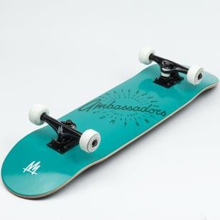 Ambassadors Komplet Skateboard Spin Turq. Shadow