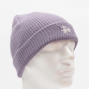 4a74995ee Zimná čiapka Stüssy Ho 18 Basic Cuff Beanie fialový (132905 / 0820 ...