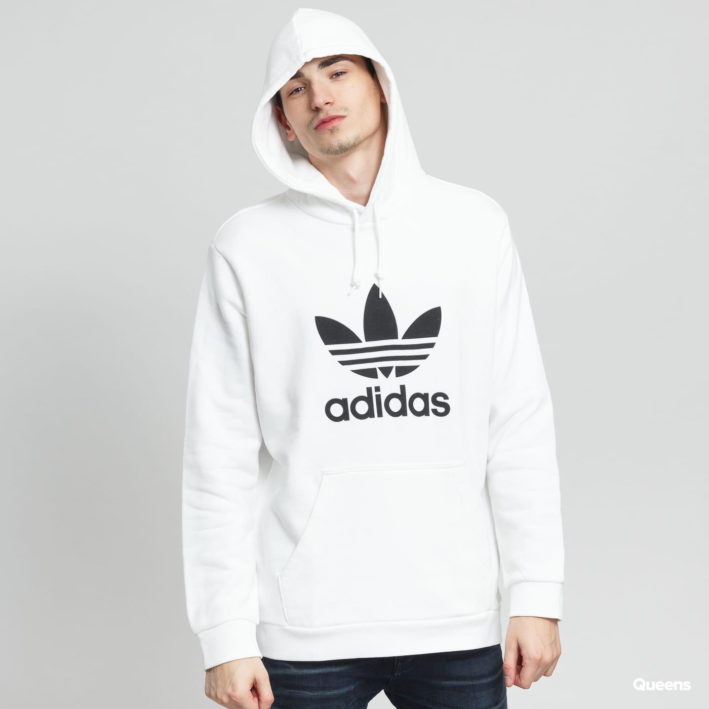 adidas Originals Trefoil Hoodie weiß