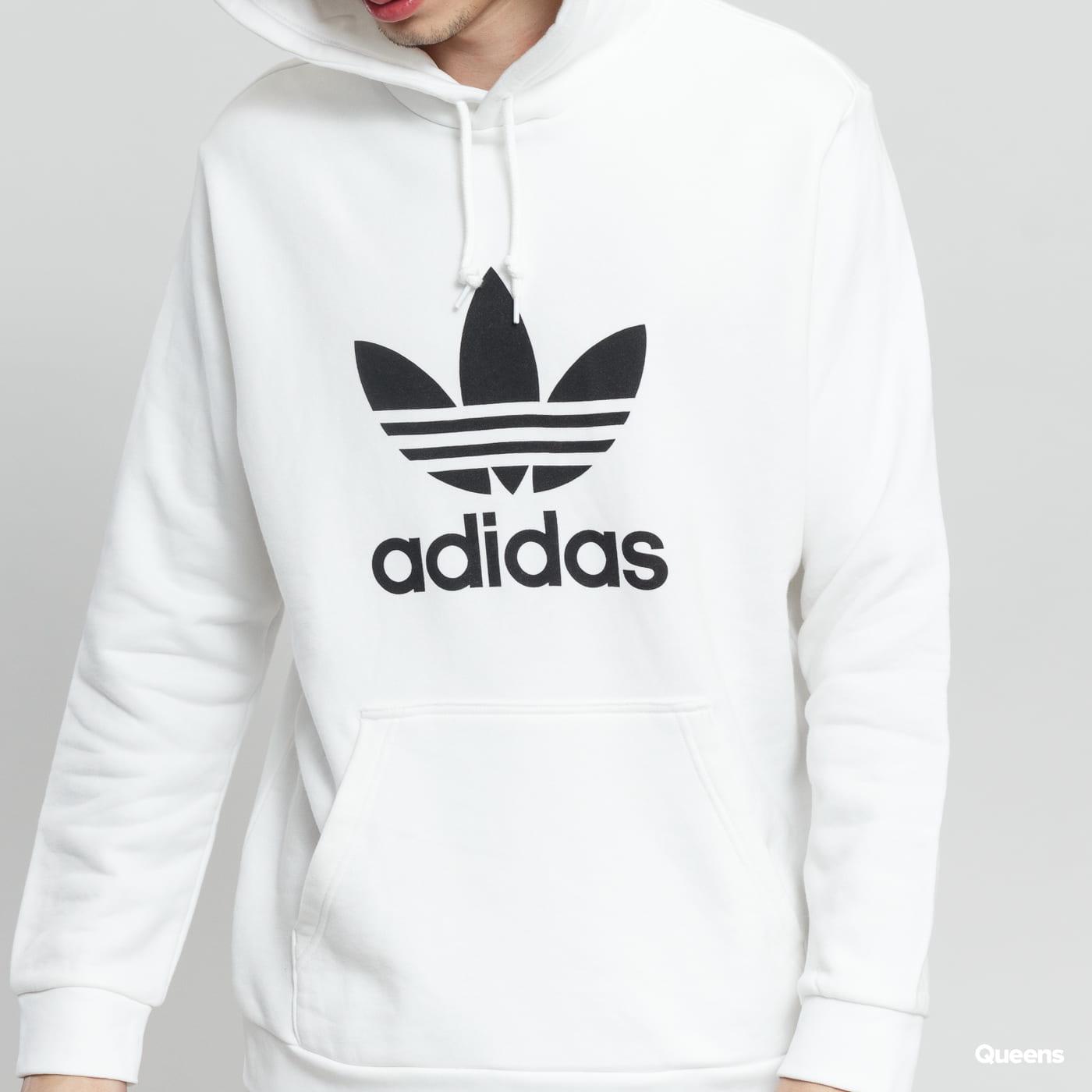 adidas Originals Trefoil Hoodie biela