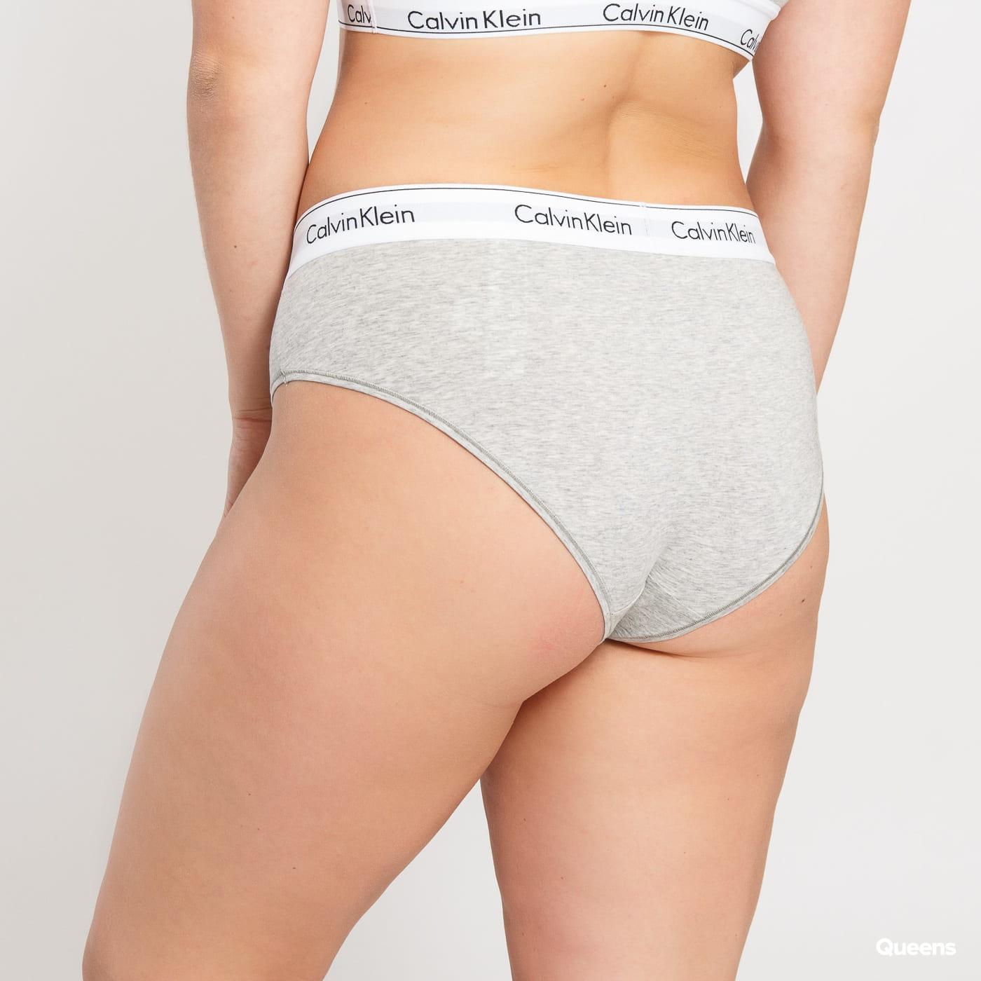 Calvin Klein Bikini - Slip Plus Size C/O grau melange