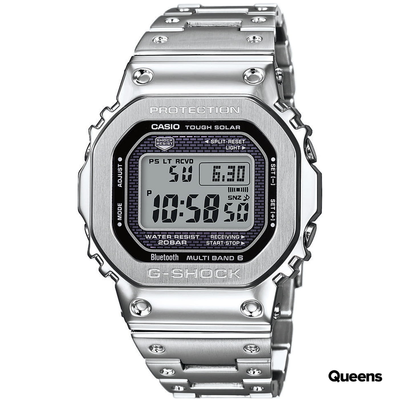 Casio G-Shock GMW B5000D-1ER silver