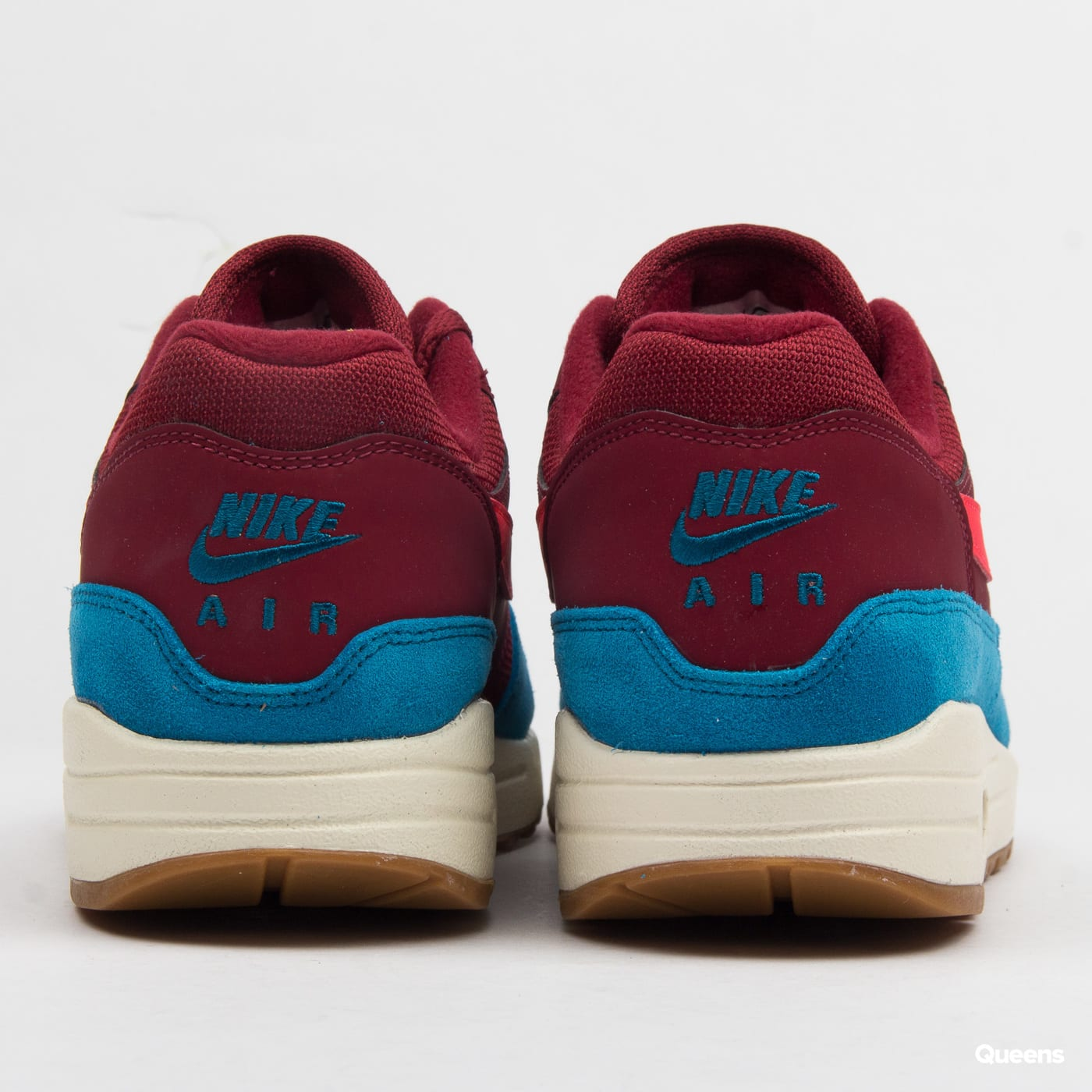 Nike Air Max 1 team red / red orbit - green abyss