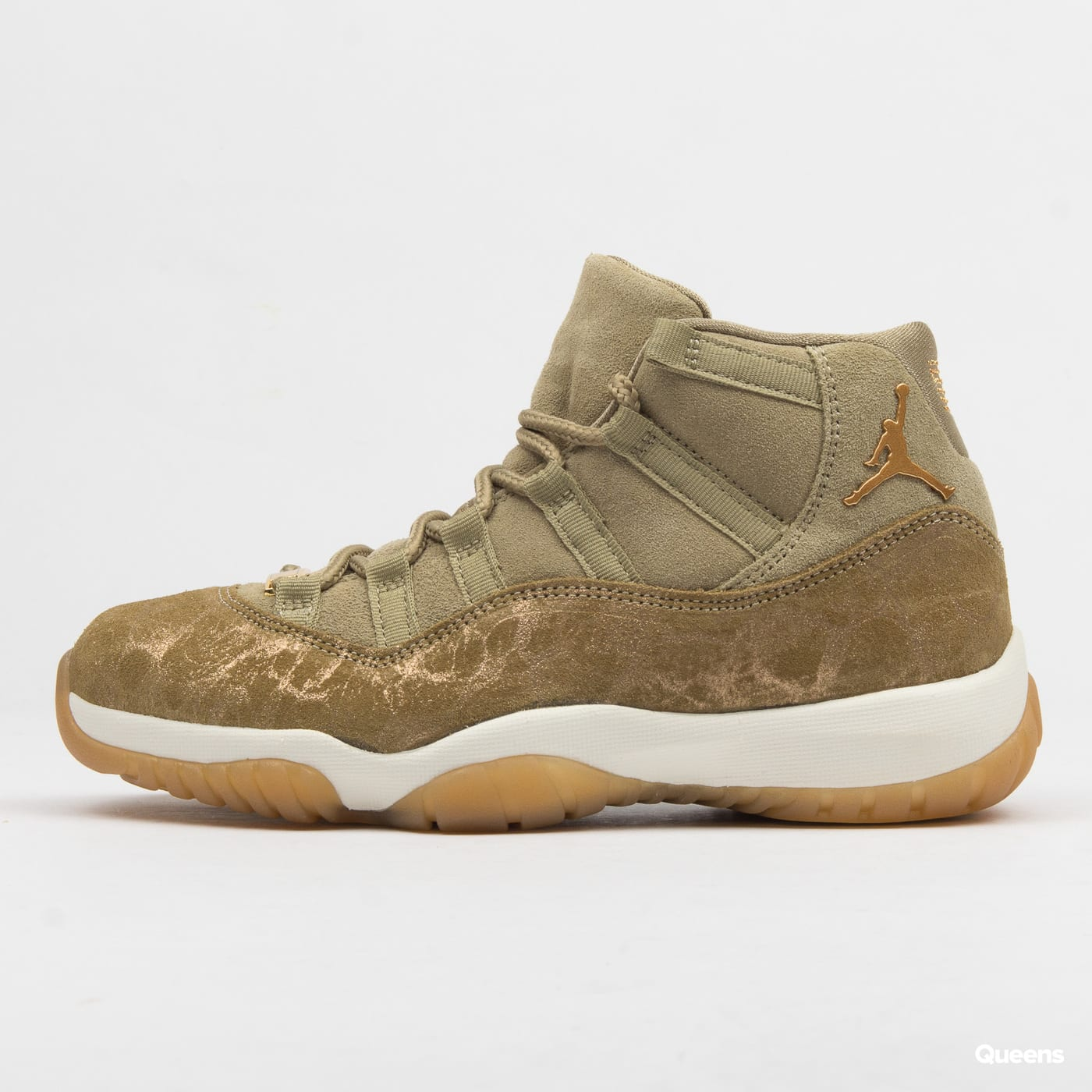 Jordan WMNS Air Jordan 11 Retro neutral olive / metallic stout - sail