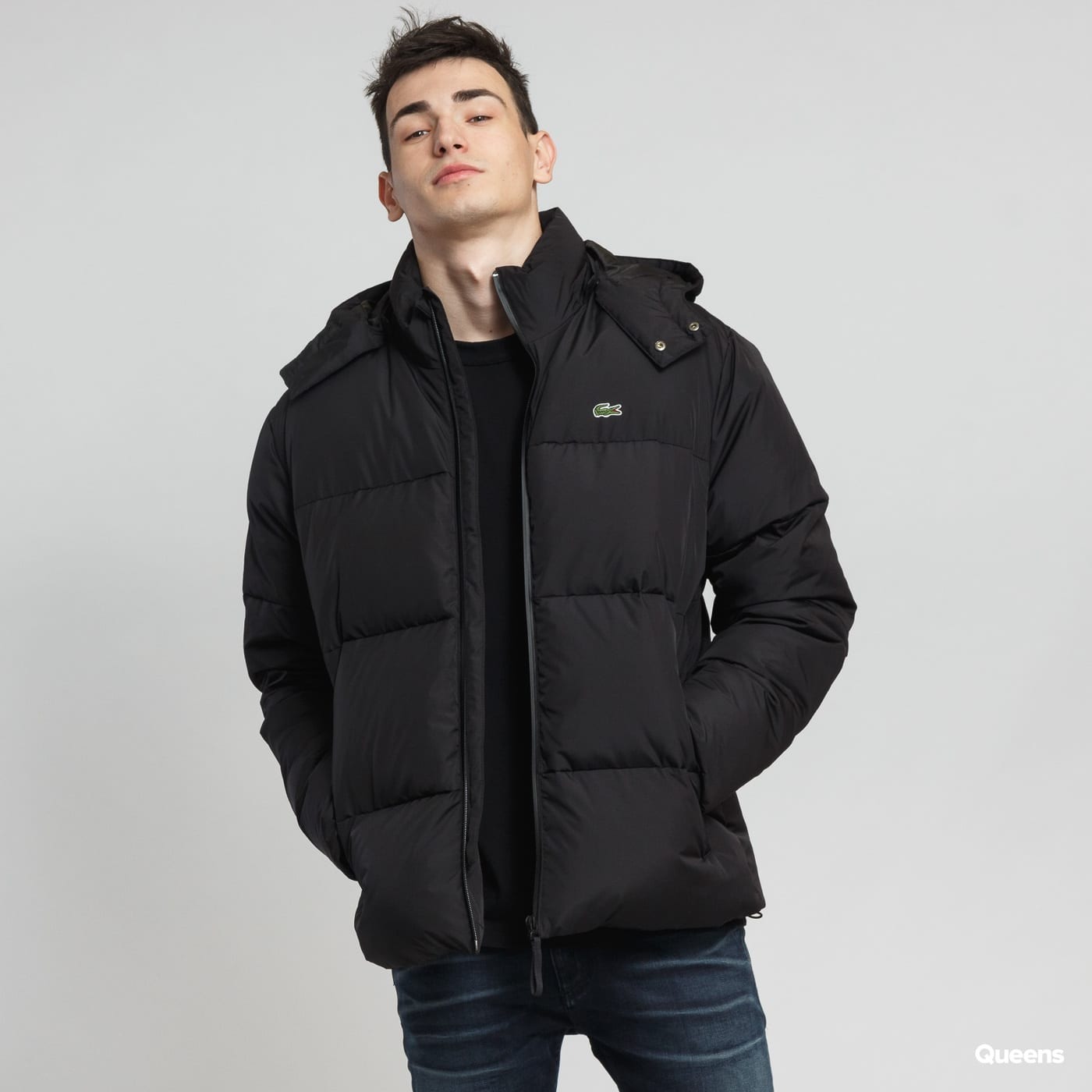 2477d616ab7 Pánská zimní bunda LACOSTE Puffer Jacket (BH9358) – Queens 💚
